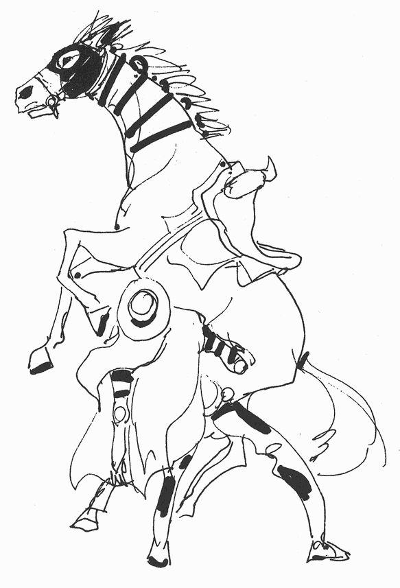 Araki Doodles - Part 7 - Steel Ball Run