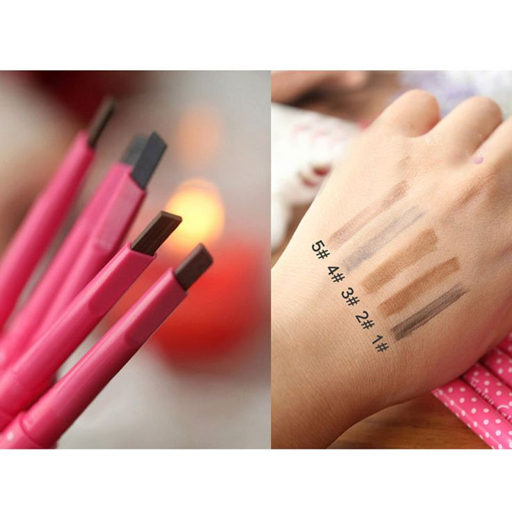 1pcsFashion Rotation Square Eyebrow Pencil Waterproof Fine And Permanent Eyebrow Pen Makeup Cosmetics Maquiagem Eye Brow Pencil