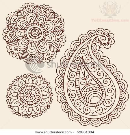 ... Paisley Bird Tattoos on Pinterest | Bird Tattoos Paisley Tattoos and