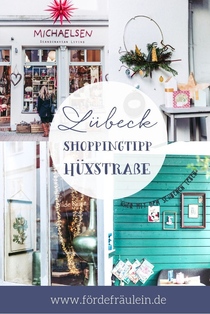 LÜBECK shopping tips LÜBECK Hüxstraße individual