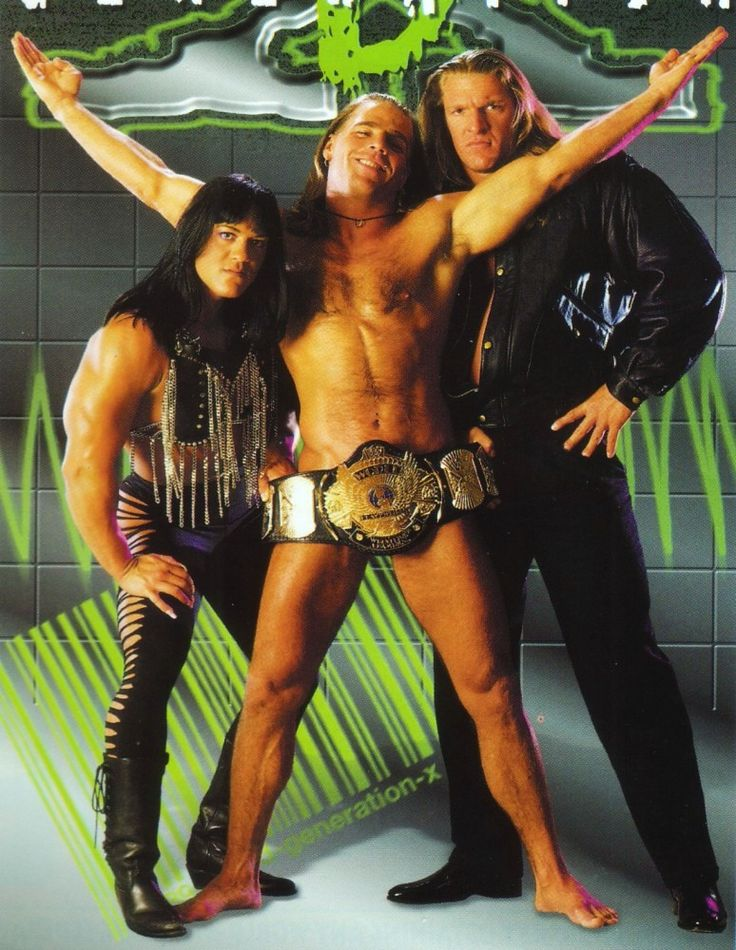 D-Generation X (Chyna, Shawn Michaels, Triple H) you make ur rules and we will break them!