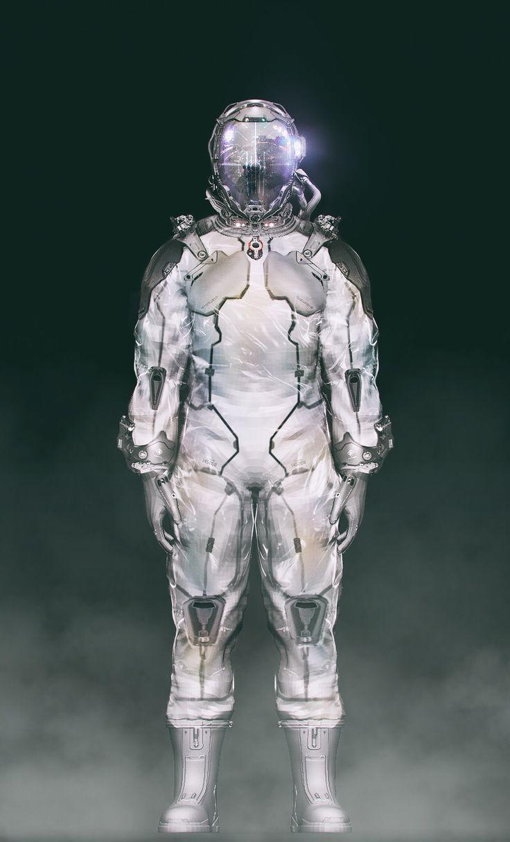 12 best Concept - Space Suit images on Pinterest | Space ...