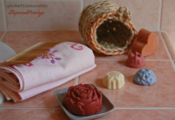 Natural Beauty - Porta oggetti bagno + saponi di uncinettoamoremio su Blomming