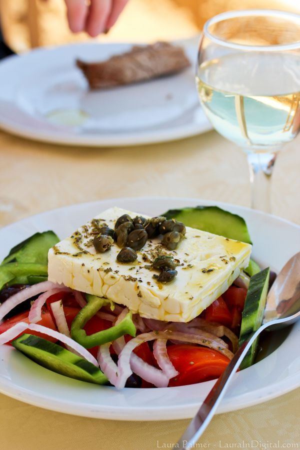 VISIT GREECE| Horiatiki Salata, Greek salad