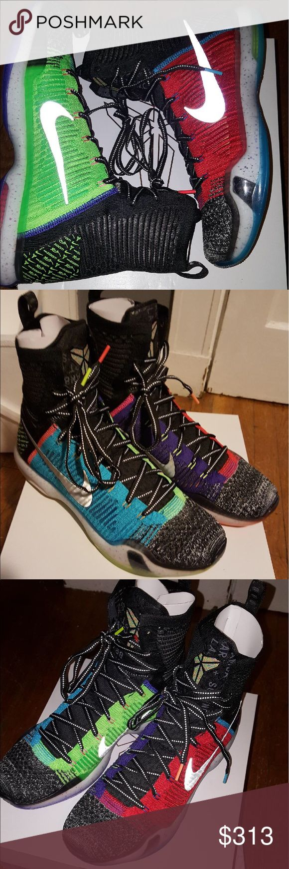 """NIKE WHAT THE KOBE SIZE 12 NEW IN BOX Selling these Nike """"What the Kobe"""" size 12. New in box-never worn. No trades. Nike Shoes Sneakers"""