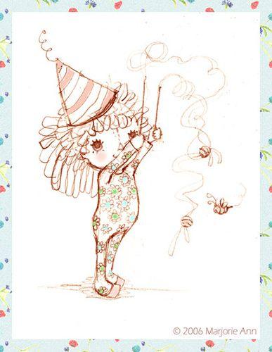 """Lazy bees"". doodle By Majeak Ann"