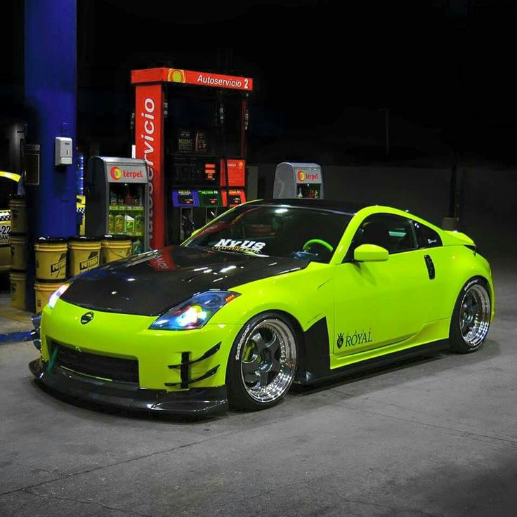 Nissan Limegreen Hot Import Tuning Pinterest Nissan