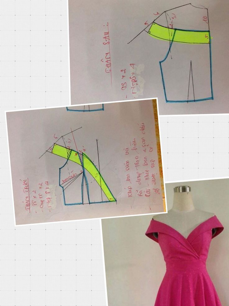 Neckline dress (weight reduction program)