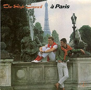 """For Sale - The Style Council A Paris EP UK  7"""" vinyl single (7 inch record) - See this and 250,000 other rare & vintage vinyl records, singles, LPs & CDs at http://eil.com"""