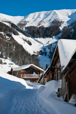 The Montagne Alternative's converted barns, Saas-Fee