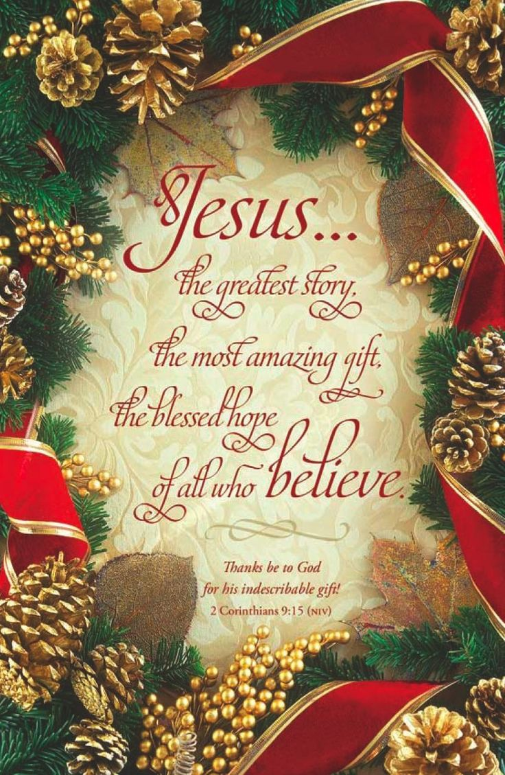 Thanks be to GOD for the gift of salvation through JESUS CHRIST His One and Only Son