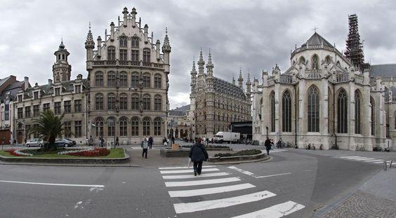 Self-guided walk and walking tour in Leuven: Famous Architecture Walk, Leuven, Belgium, Self-guided Walking Tour (Sightseeing)