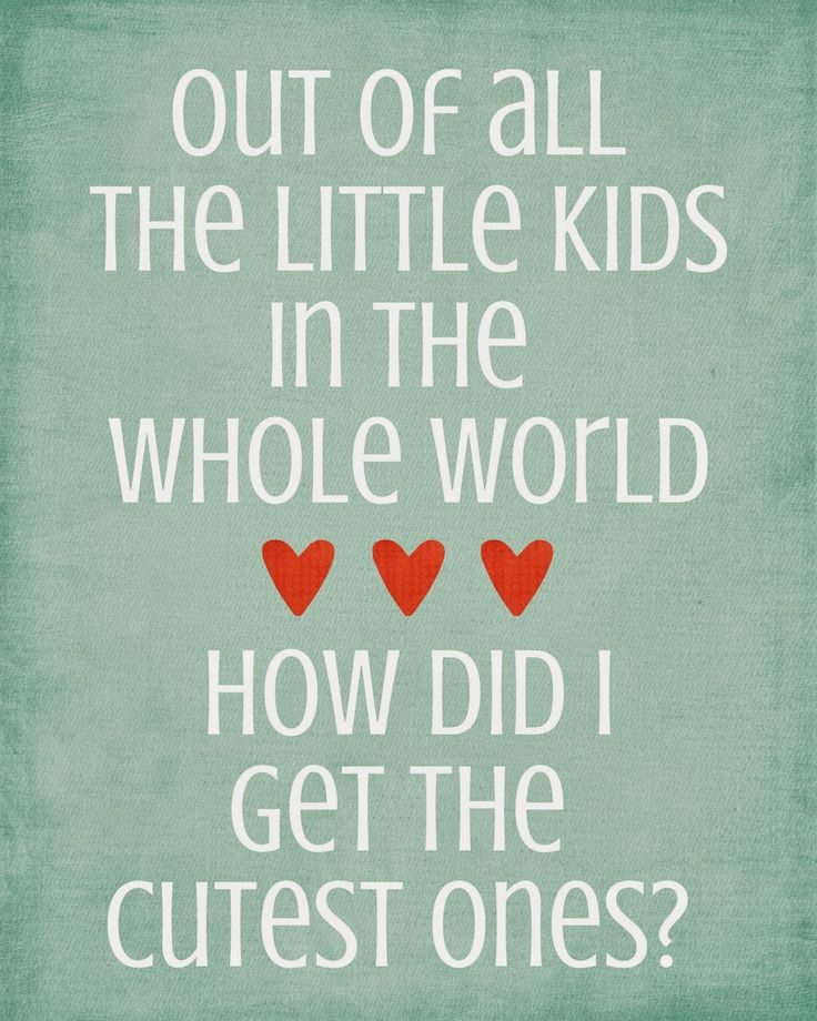 Family Quotes On Pinterest: 17 Best Cute Kids Quotes On Pinterest
