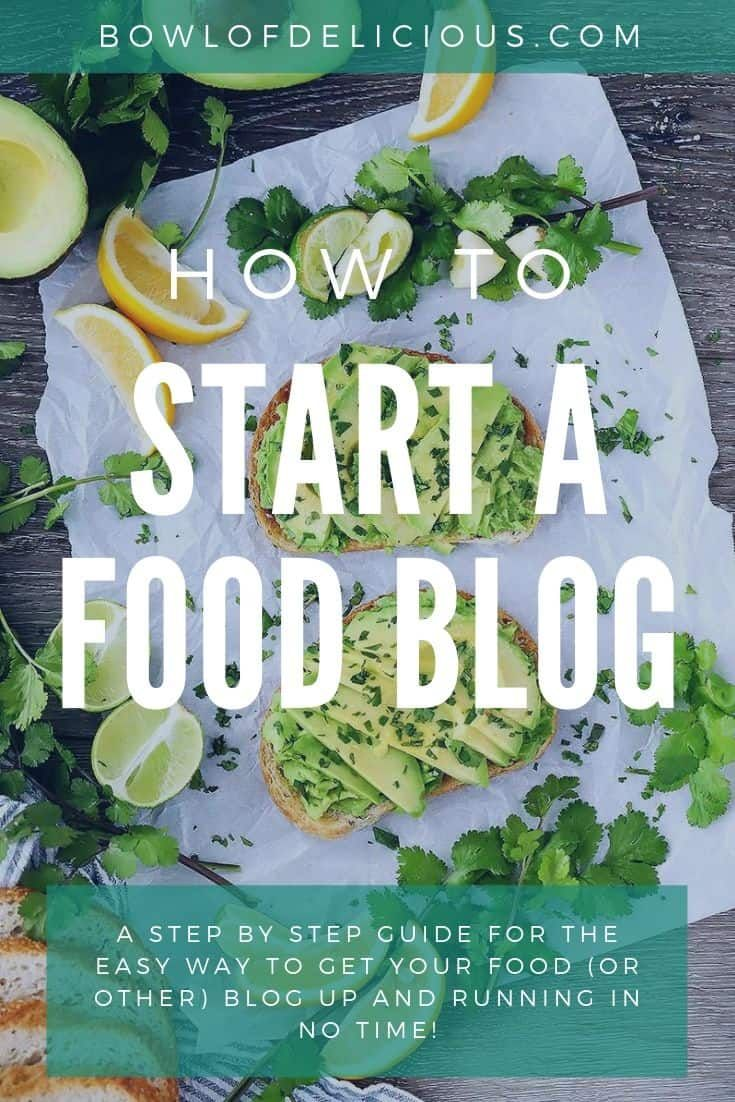 How To Start A Food Blog Food Blog Healthy Food Blogs A Food
