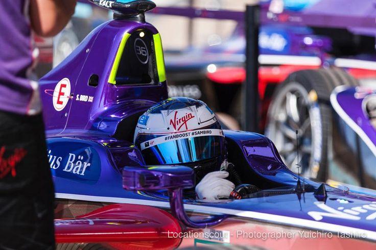 #press #sambird at #superpole #fiaformulae #marrakecheprix #racing #dsvirginracing