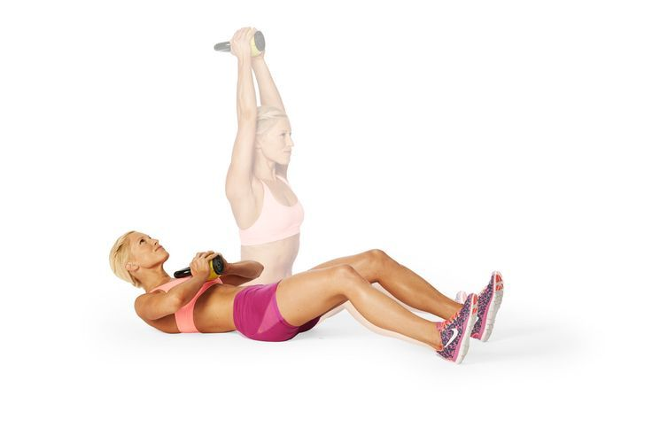 Press It Up: works your shoulders and abs