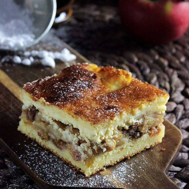 Cytrynowa szarlotka z serem ❤ Nowość na blogu! #szarlotka #sernik #cheesecake #jabłecznik #apple #ciasto #ciastozjabłkami #ostranaslodko #sylwialadyga #masterchef #pasja