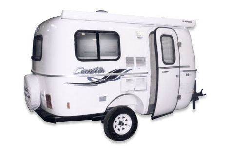 Patriot Deluxe 13' | Casita Travel Trailers - America's Favorite Lightweight Travel Trailers!
