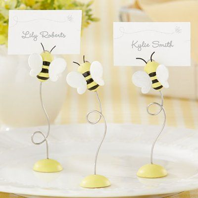 """""""Sweet as Can Bee"""" Place Card Holders"""