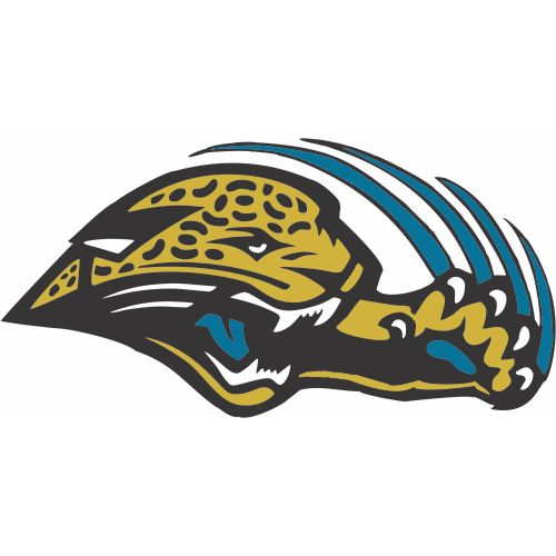 Custom or design jacksonville jaguars logo iron on decals stickersheat transfers for your