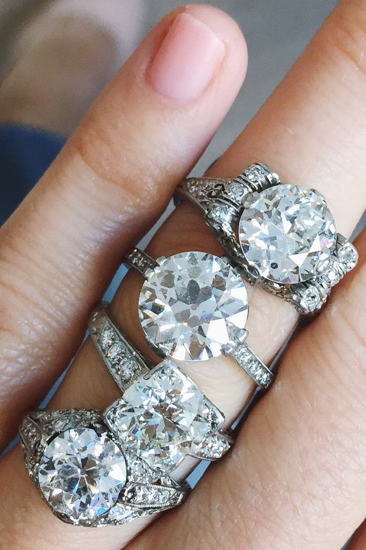 Art Deco & Edwardian Vintage Engagement Rings From Erstwhile!