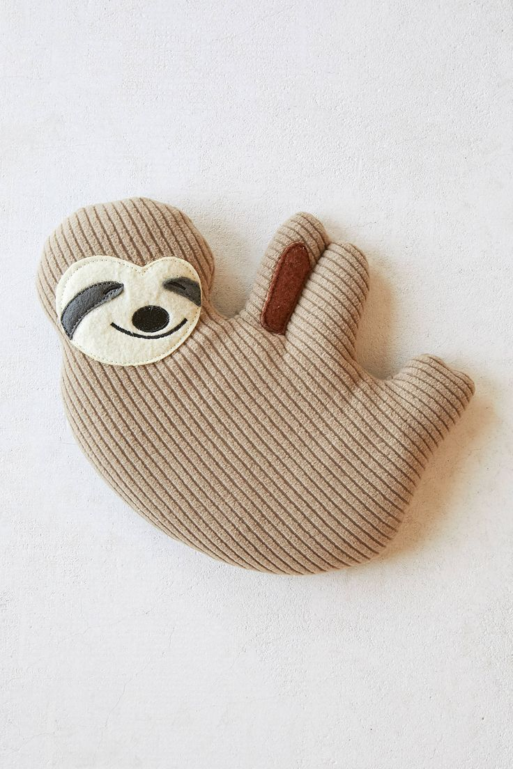 Huggable Sloth Cooling + Heating Pad Heating and cooling