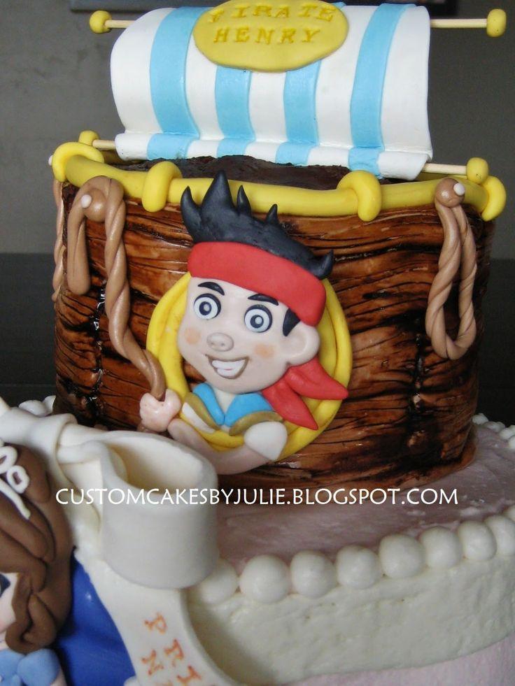 Sofia the First Cupcake Cake and Jake | ... Princess Cake - Jake and the Neverland Pirates and Sofia the First