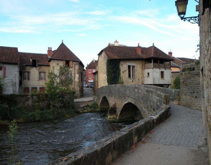 The lovely village of Arbois in Jura
