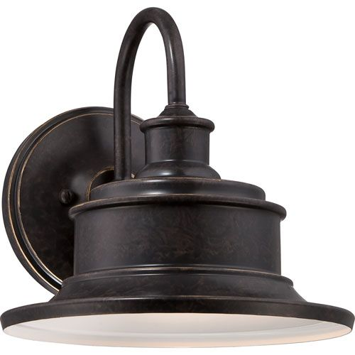 Quoizel Seaford Imperial Bronze One Light Outdoor Wall Fixture Sfd8411ib