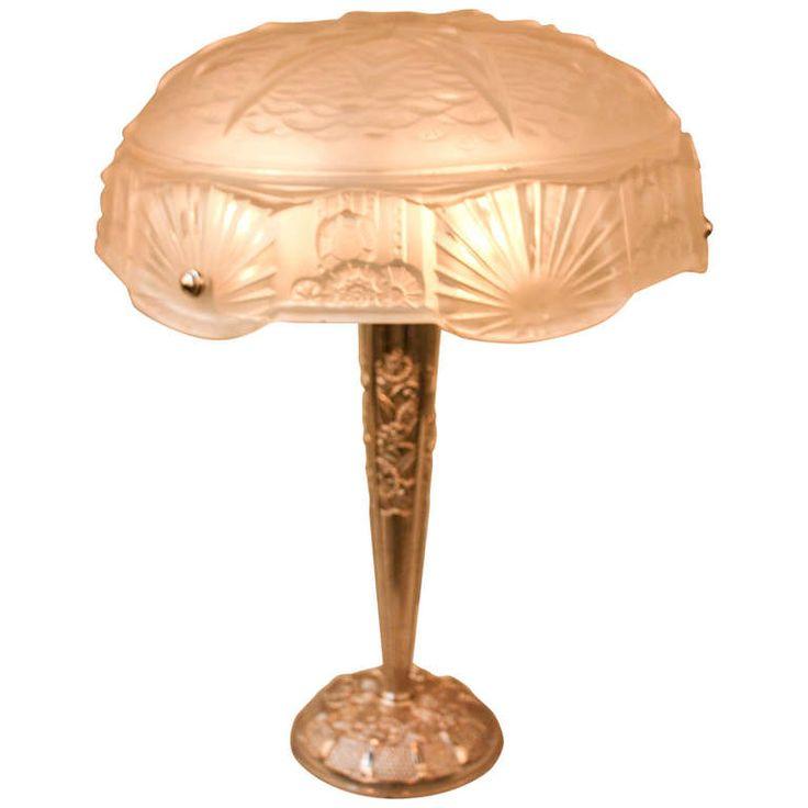 1930s Art Deco Table Lamp by Muller Freres  Art Deco Table LampsModern. 93 best art deco lighting   table   images on Pinterest   Art deco