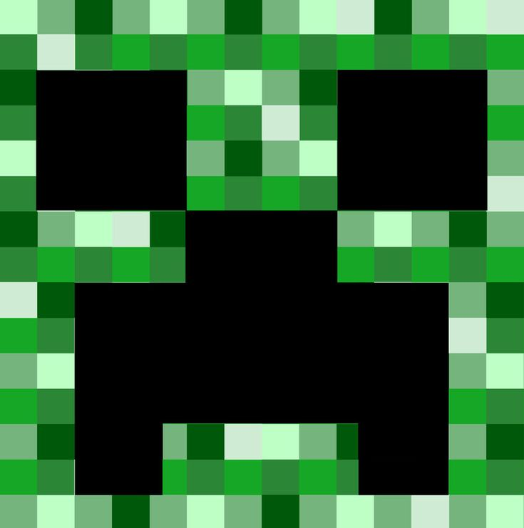 It's just a picture of Dynamite Minecraft Creeper Face Printable