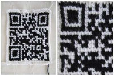 crochet qr code