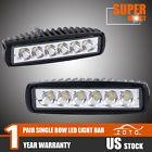 """2PCS 6"""" 18W CREE LED OffRoad Work Light Bar For Motorcycle Dirt Bike ATV UTV 12V"""