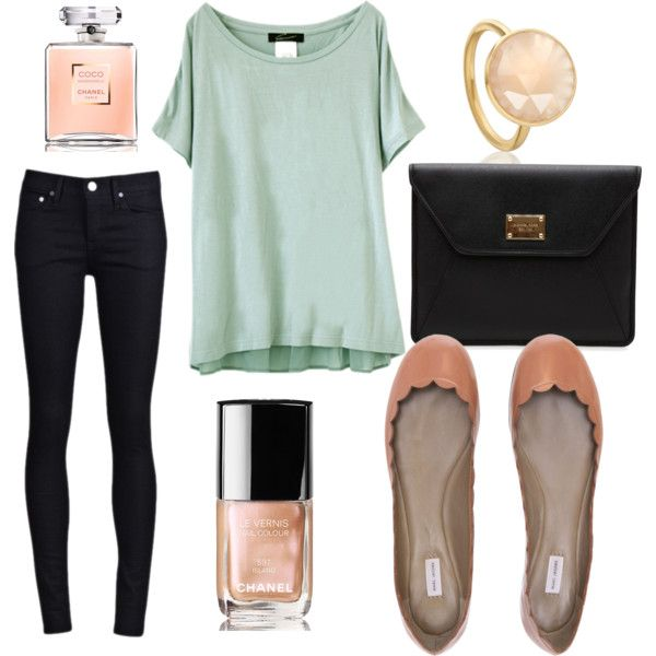 the comfy, casual but still cute look!!