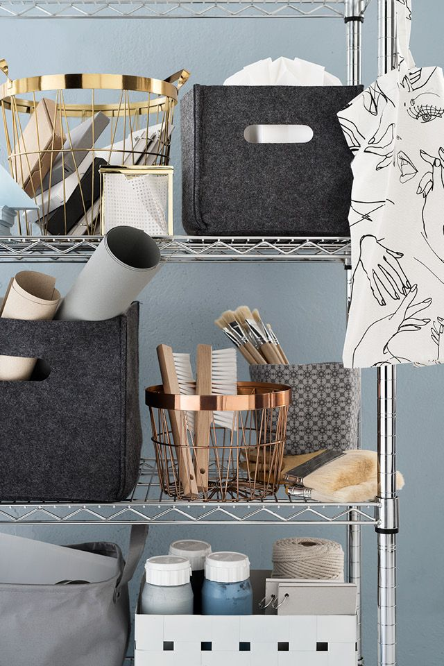 Keep your cherished belongings tidy with our pick of chic storage products. Get inspired by a variety of styles and create your own look. | H&M Home
