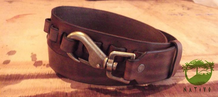 Manufacture finished, belt completely hand made