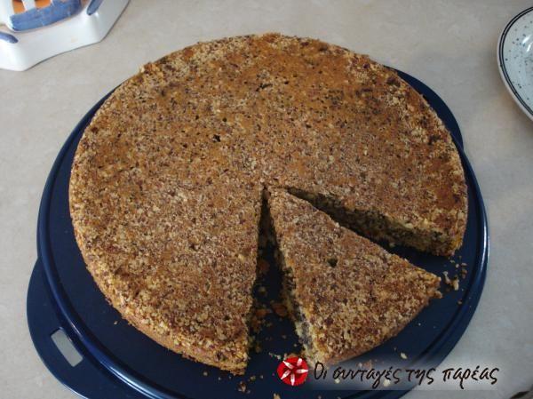 Γευστικό νηστίσιμο κέικ αμυγδάλου #sintagespareas