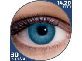 Air Optix Colors Brilliant Blue | lentile de contact colorate albastre lunare - 30 purtari (2 lentile/cutie)