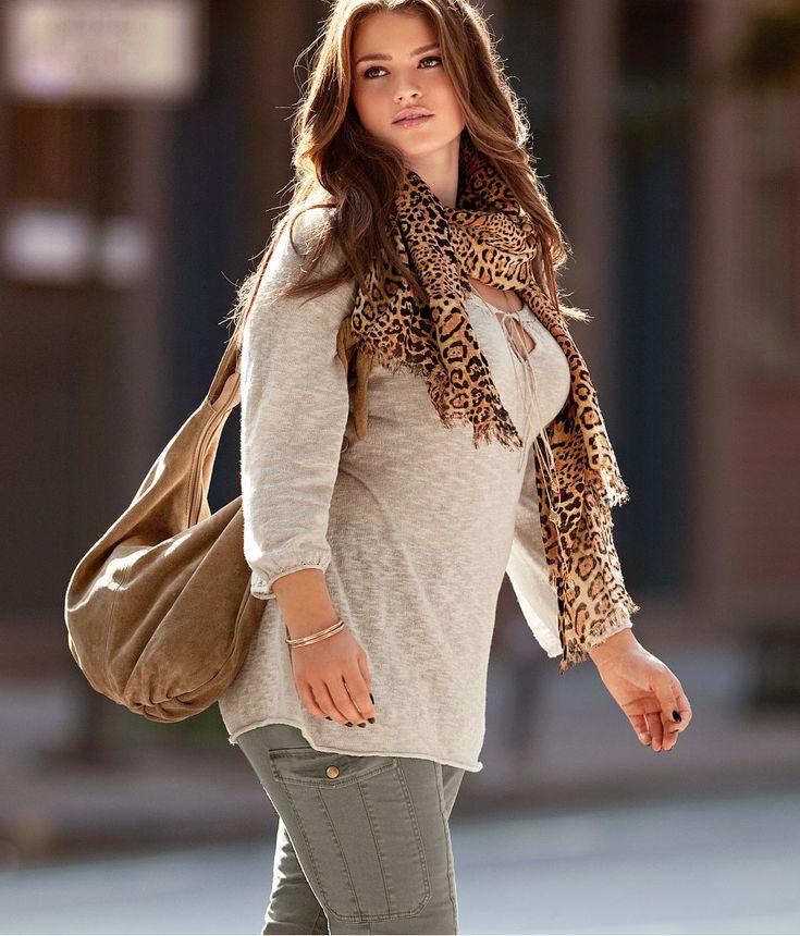 Осень 2013: одежда для полных женщин