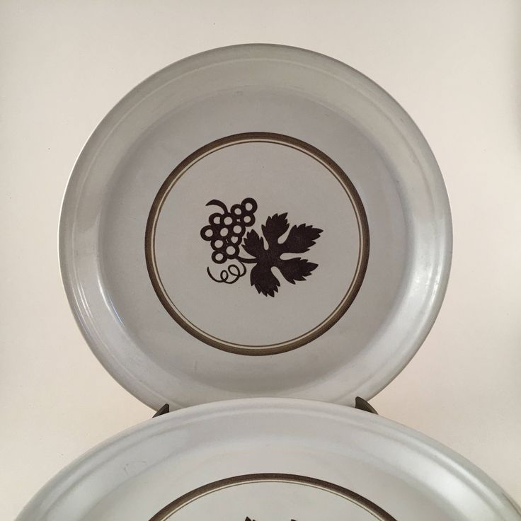 Excited to share the latest addition to my #etsy shop: Ben Seibel Mikasa Vineyard Dinner Plates, Vintage Midcentury Dishes Set of 4, Mikasa Dinner Plate in Vineyard by Designer Ben Seibel