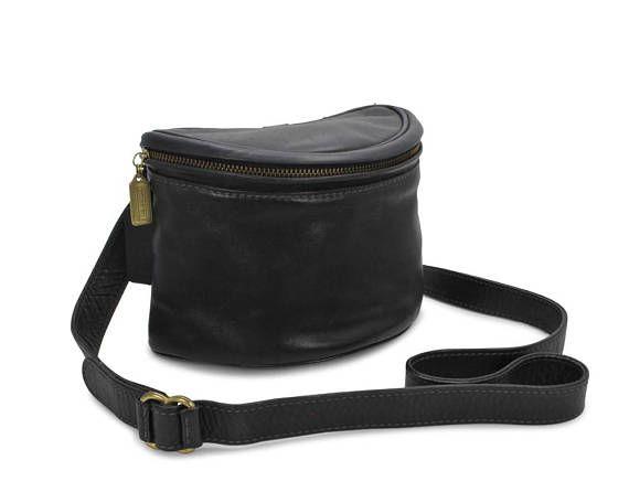 Coach New York Vintage 1990s Crossbody Handbag Purse Petite