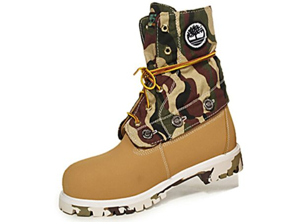 Women's Timberland Roll-Top Boots-Wheat Feature Good Ventilation ...