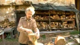 kus dřeva ze stromu - YouTube