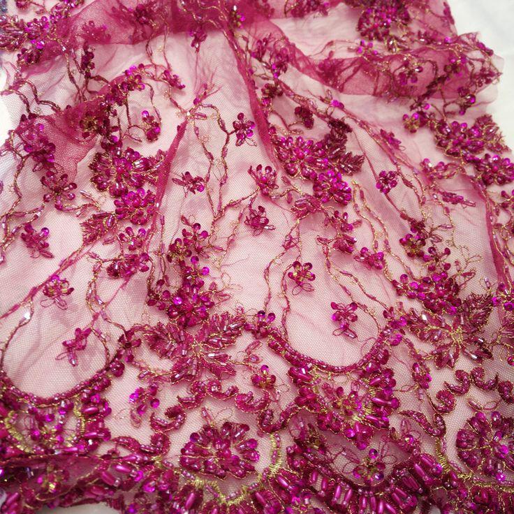 Свадебное платье Бирюзовая Кристалл ручной вышивки кружева из бисера Pearl ткань шнурка вышивки