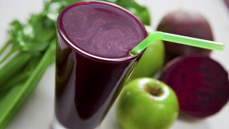 liečivý nápoj - 1 jablko,1 menšia červená repa,1 väčšia mrkva