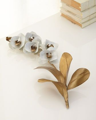Large+Orchid+Sculpture+by+Tommy+Mitchell+at+Neiman+Marcus.