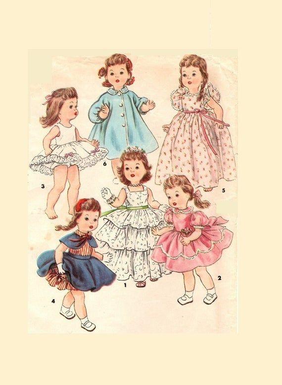 Vintage Doll Clothes Pattern 4908 For Bonny Braids Saucy Etsy In 2020 Diy Doll Clothes Patterns Dolls Clothes Diy Doll Clothes