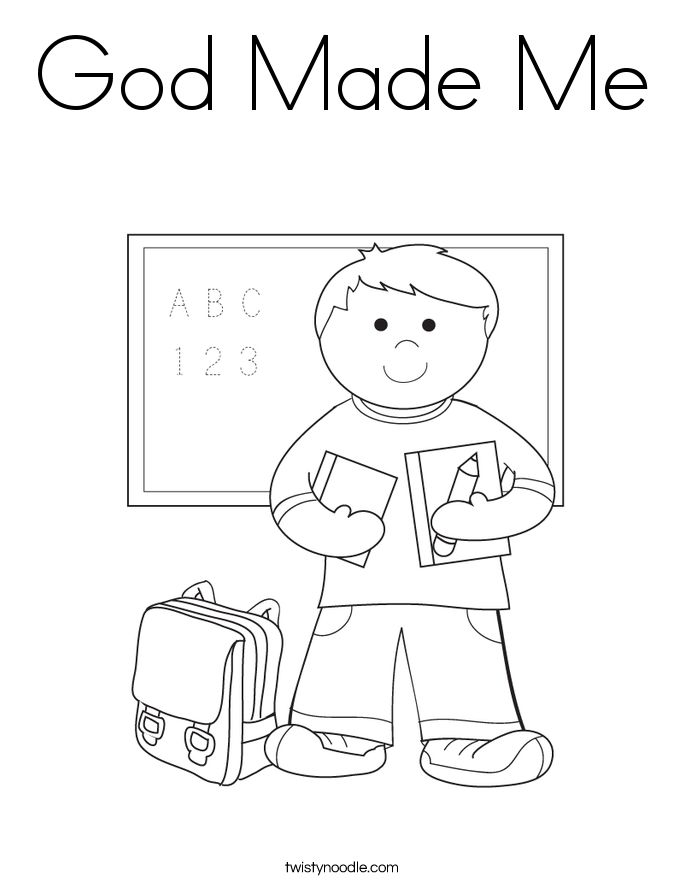 Creation Coloring Pages For Kindergarten : Best images about creation printables on pinterest