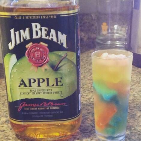 Jim Beam Apple Gummy Shooters