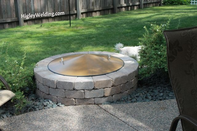 10 Best images about Custom Stainless Steel Fire Pit Spark ...